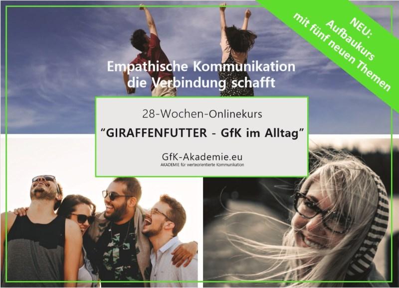 """5-Wochen-Onlinekurs """"Giraffenfutter - Aufbaukurs"""""""